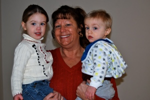 Grammie with her grandkids