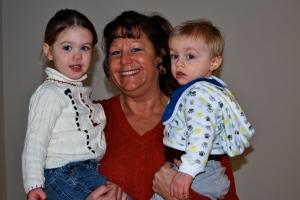 Grammie with her grandkids